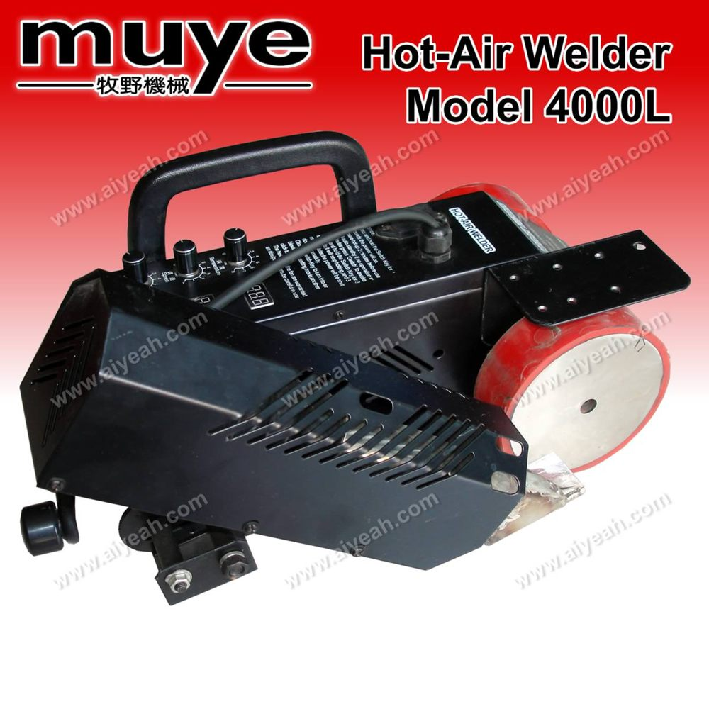 Model 4000L-2 Plastic And PVC Hot-Air Welding Machine