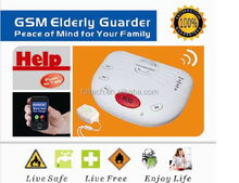 Watchdog zone for elderly caring,timer for elderly medical alert,SOS Red panic button for elderly emergency help FDL-A10