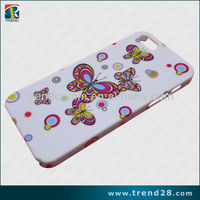 beautiful butterfly pc case for iphone5