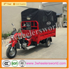 China manufacturer three wheel covered motorcycle /motorized cargo tricycle for sale
