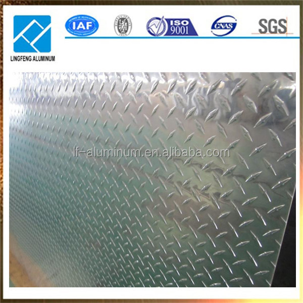 0.5mm Thickness Manufacturer Price Aluminum Checker Sheet Plate