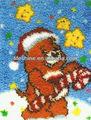 Christmas craft kit with one christmas bear design