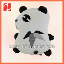 Delicate amiable DIY stuffed toys panda in china shenzhen OEM