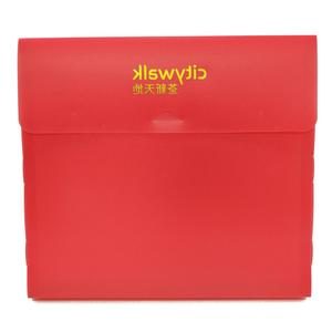 Custom wholesale printing colored gold foil stamping logo plastic a4 box file size from China