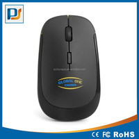 New Ultra-Slim Mini USB 2.4G Wireless Optical Mouse PS-M0094