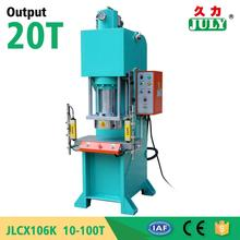 JULY Top Sale 20 Ton Hydraulic Press For Rubber Vulcanization