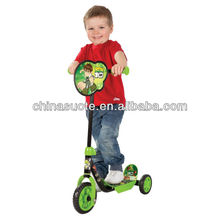 3 Big Wheels Foot Scooter, Ben 10 My First Tri Scooter