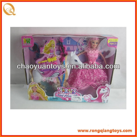 "hot sale 11.5""DOLL HORSE SUIT for kids AN62836692-1"
