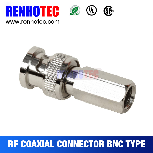 BNC Twist Screw On Plug Male Connector for CCTV Security RG59 Coaxal Cable