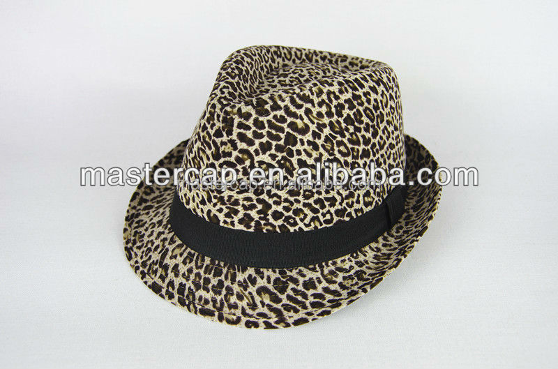 Cotton felt Panama hat