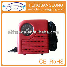 HD-023 Chinese plastic 12V mini car compressor air pump best tire inflators
