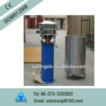 rotary sieve/800mm Diameter Vibration Screen For Starch