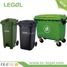 240L Plastic Garbage Container Hospital Creative Trash Bins