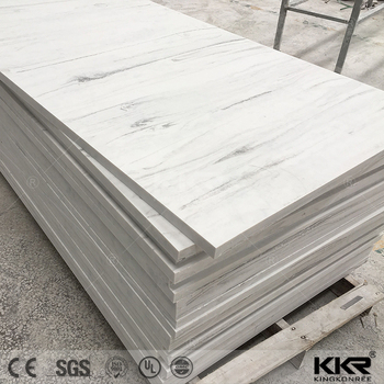 KKR modified and pure acrylic solid surface sheets for countertop and vanity top
