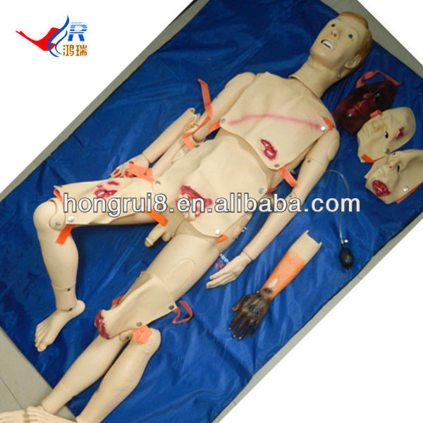 ISO Educational Nursing Dummy With Wound Care modules