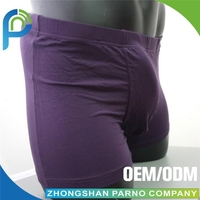Old man underwear with wide Waistband Contrast binding PM016