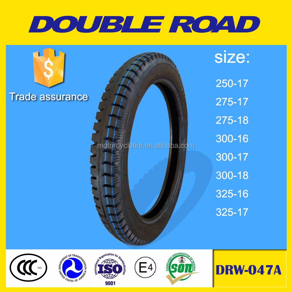 Philippines hot sale China factory price 300-17 motorcycle tire