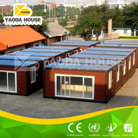 Prefabricated steel prefab tent house