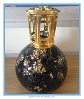 Aromatherapy Fragrance Lamp6/Oil lamp with wick/Mosaic glass oil burner/Home decoration
