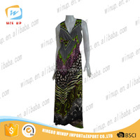 2016 maxi dress women western party wear girls' dresses