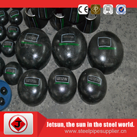 Welding M.S carbon steel name of black painting sch40 cap price