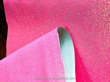 patent leather fabric for shoe glitter leather