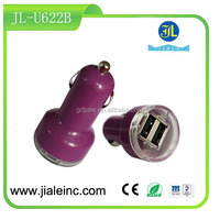 3.1A 15.5W DUAL USB car charger for mobile and tablet