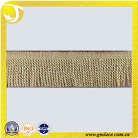 Valance Attached Trimming Tassel Fringe Embroidery Bullion Curtain