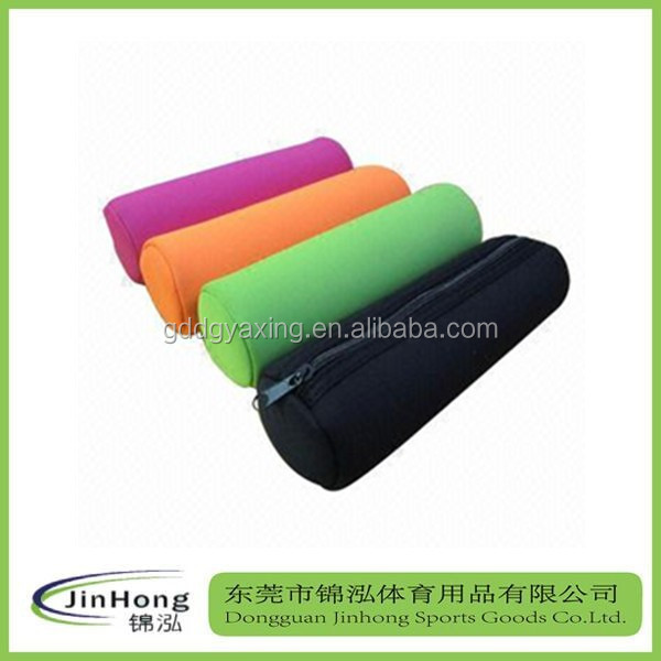 unusual pencil cases,pencil case for girl,Cylinder shaped neoprene pencil pouch
