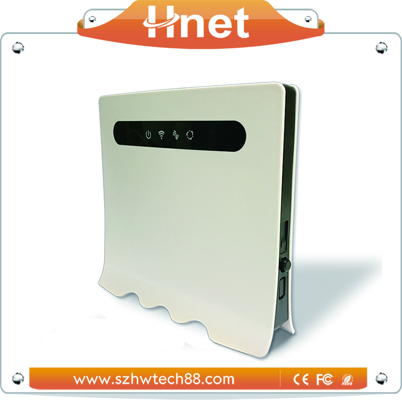 With rj11 port 4G CPE Router Support 32users online 4g sim router