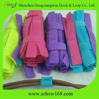 manufacturer soft tape printed nylon Hook and Loop straps