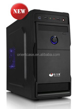 special custom micro atx case with Chassis size L380*W173*H362mm,support long VGA card L=340mm