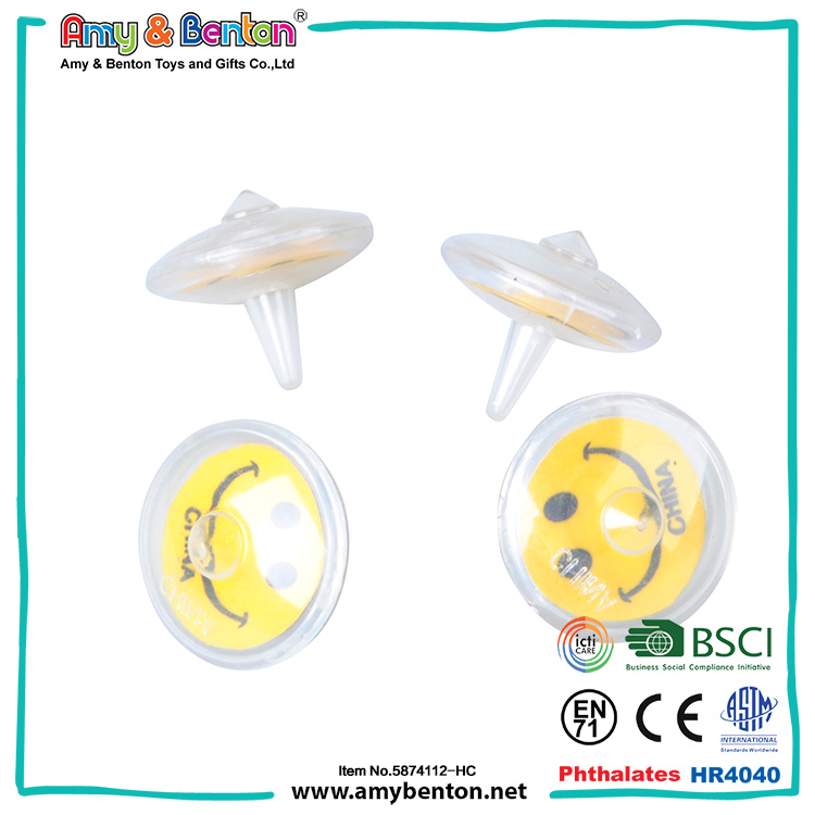 Popular fashion children game toy smile face toupie beyblade