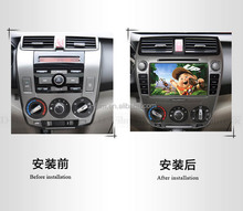 Double din car DVD player Japan car radio GPS navigation for city