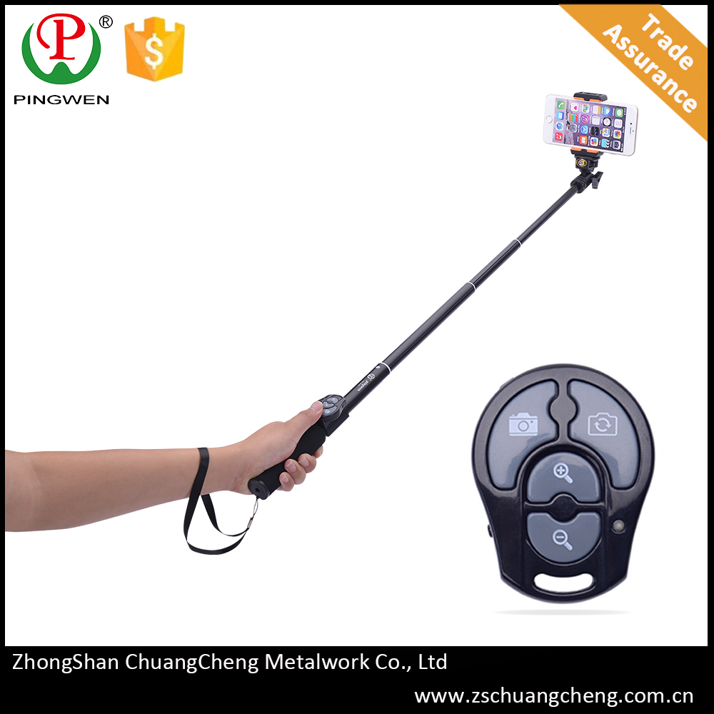 PingWen photographic equipment compact mobile phone monopod for s820
