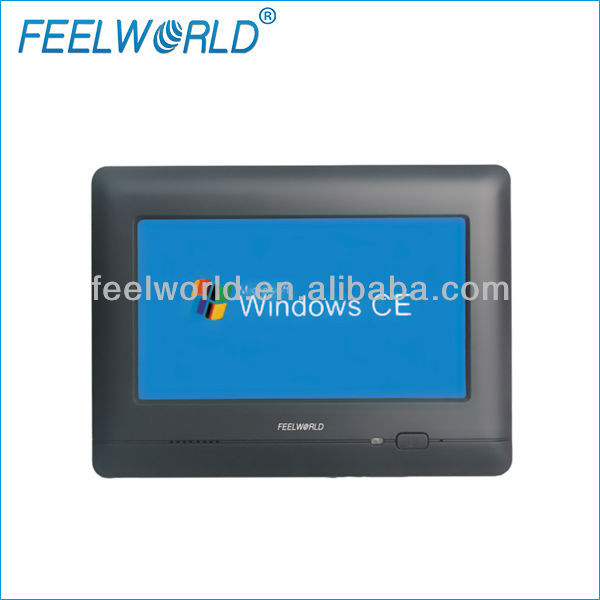 7 inch touch screen windows tablet embedded industrial pc wince 6.0