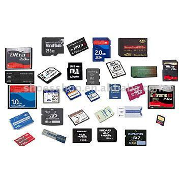 Flash Memory Cards-Pro Duo SD Cards