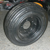 Supply 4.00-8 tubeless solid wheel barrow wheel