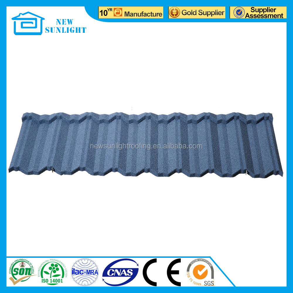 metal building material for roof color stone coated steel roof sheet