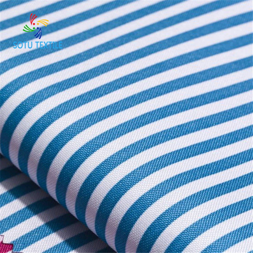 100% Polyester 300D*300D Printed PU Oxford Fabric