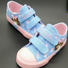 FC2470 New Model Casual Design Kids Shoes Lovely Girls Shoes Wholesale Canvas Shoes