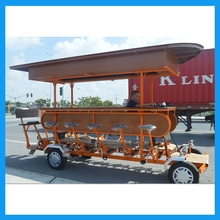 48V40An Battery Electric Assist 15 Person Party 4 Wheel Adult Beer Bike for Sale