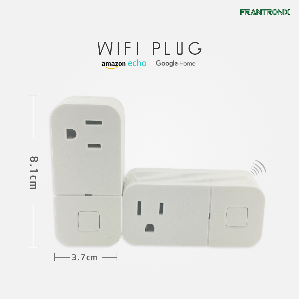 Voice Control New Design Wifi socket smart plug USB Port Customized Alexa Google Home Based Products