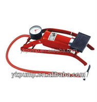 New 2014 Single tube foot pump inflator