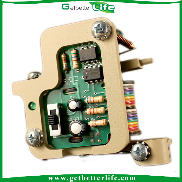 Getbetterlife High Quality LED Green Glow 8Colis 33uf Custom Tattoo Machines