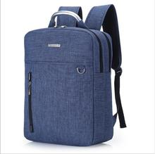 Waterproof Korea Style Laptop Backpack anti theft polyester backpack for High school students