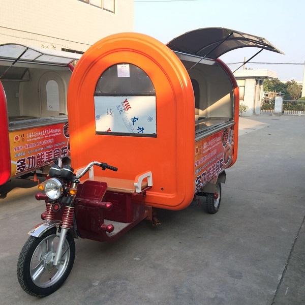Mobile Juice Drinks Cart Rickshaw Shop Kitchen Food