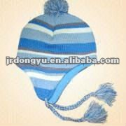 wholesale mens free knit pattern for hat earflap