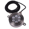 12V DC RGB 18W DMX Led Underwater Light Led Pond Lights For Fountains With DMX512 Control