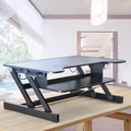 Ergonomia Height Adjustable Standing Sit to Stand Desk Riser